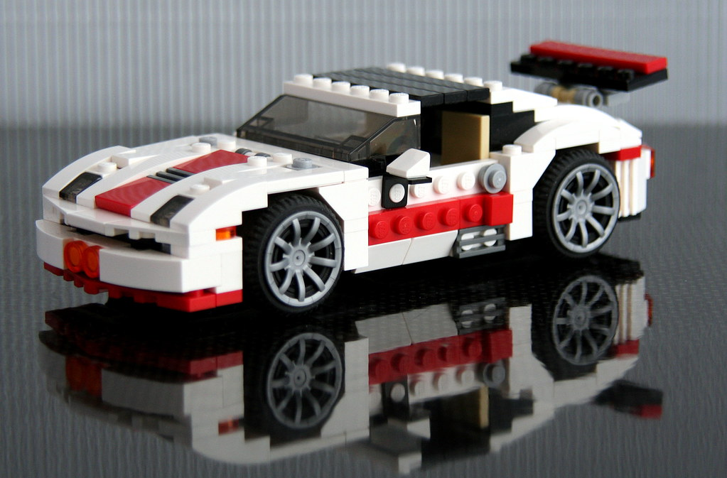 Lego 31006 Alternate Quot Porsche Ish Sports Car With Tar