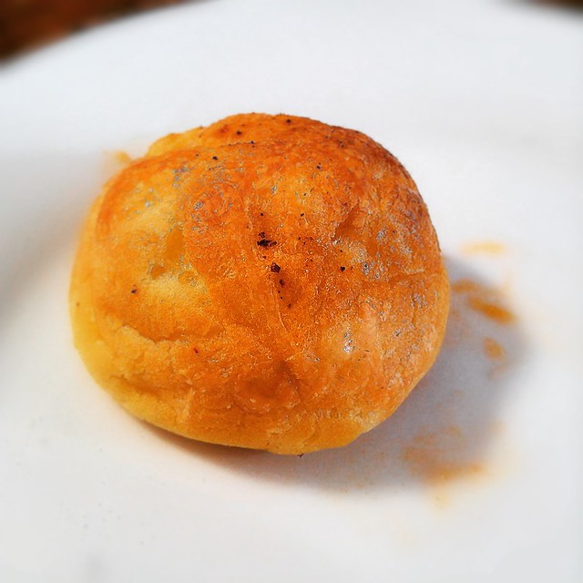 Manchego and Smoked Paprika Choux Puffs