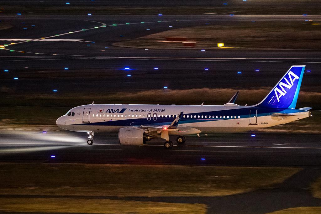 JA211A ANA A320neo Airbus 全日空