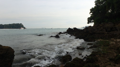 St John's Island and Sisters Island from Pulau Tekukor