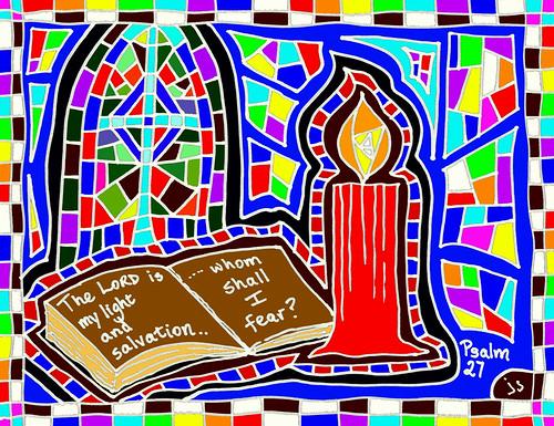 Psalm 27 bulletin