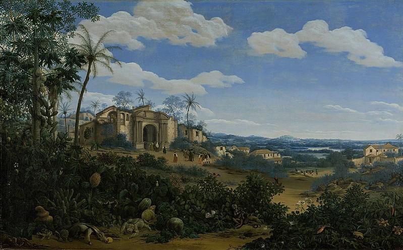 Frans Janszoon Post - Gezicht op Olinda, Brazilië (1662)