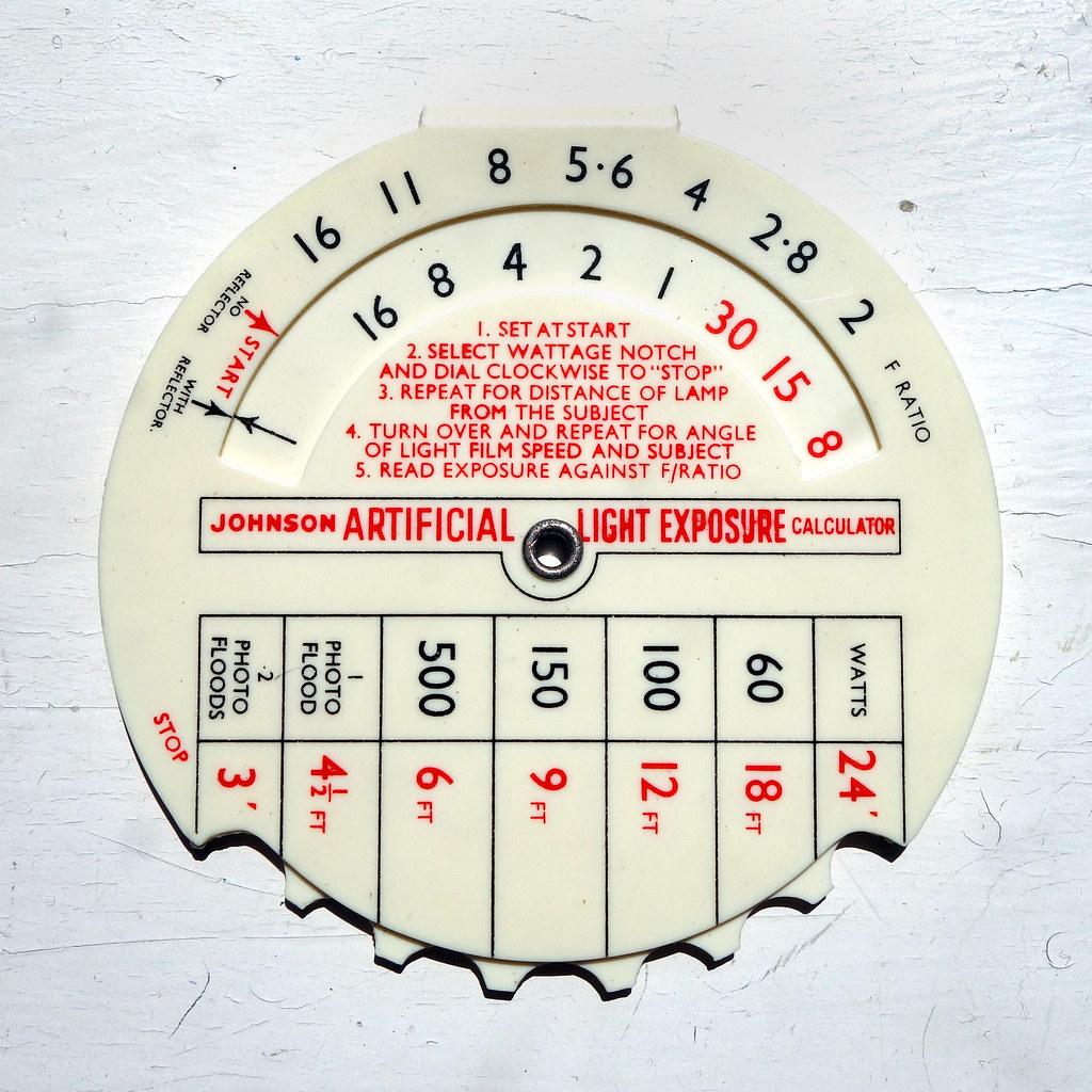 Exposure Calculators | Very cool bits of analogue kit
