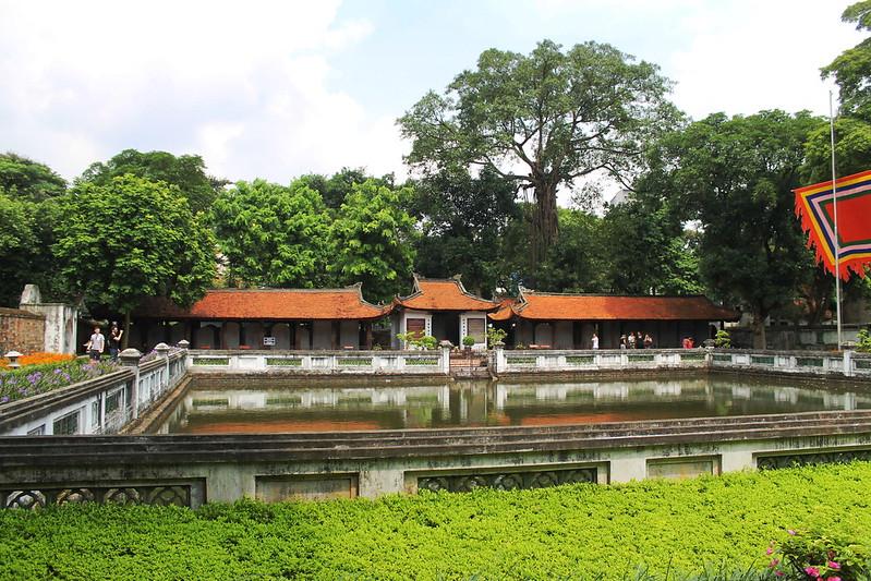 Second courtyard, Văn Miếu - Temple of Literature, Hà Nội