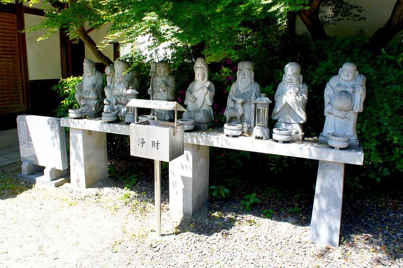 七福神像/革堂 行願寺(Kodo, Gyogan-ji Temple / Kyoto City) 2015/05/11