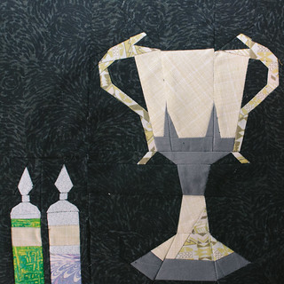 wk23 - Triwizard Cup by Connie Tessier & Potions by craftylilthing