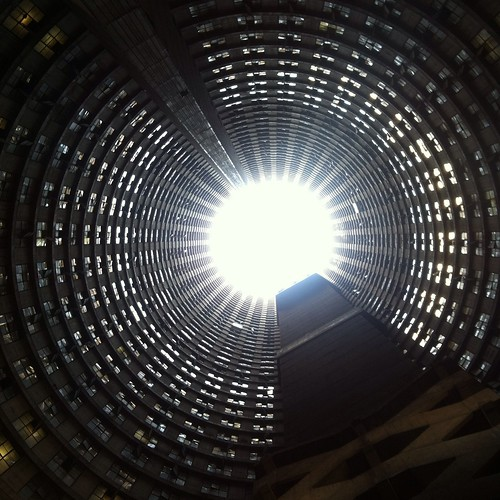 Ponte City Tower, Shaped like a Donut