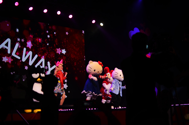hello kitty's supercute friendship festival