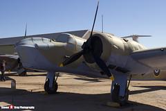 Z9592 - 10076 - Royal Air Force - Fairchild Bolingbroke IVT (Bristol 149 Blenheim IV) - Pima Air and Space Museum, Tucson, Arizona - 141226 - Steven Gray - IMG_8014