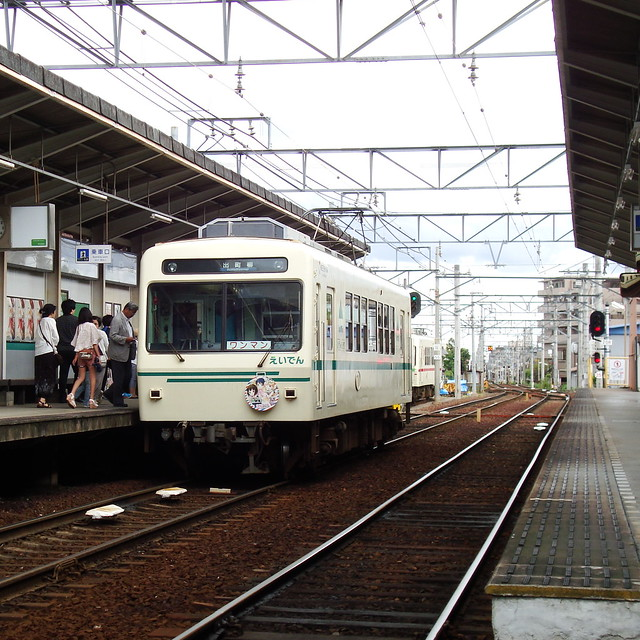 2015/06 叡山電車×きんいろモザイク ラッピング車両 #33