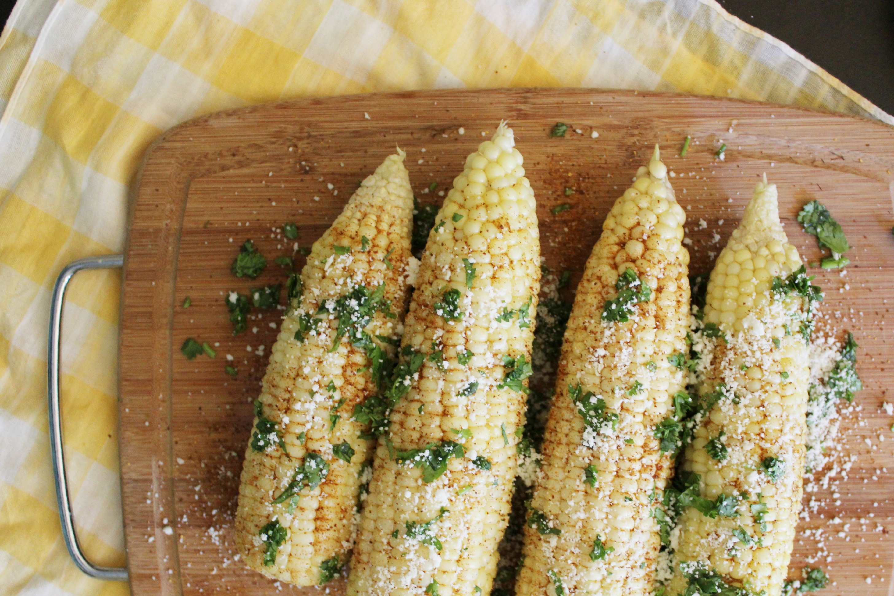 reipe: mexican corn on the cob
