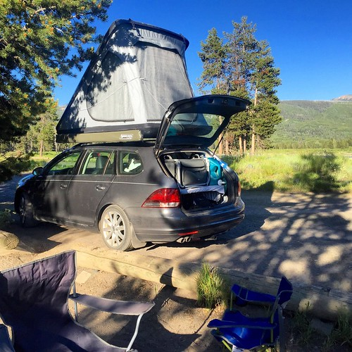 Snake River dispersed campsite