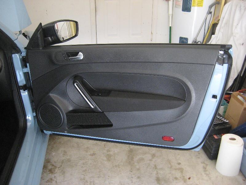 2015 Vw Beetle Plastic Interior Door Panel Take Off To U