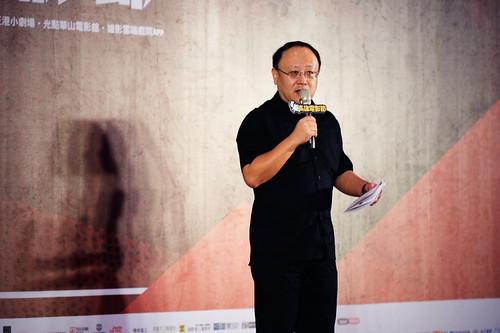 史哲現任高雄市副市長,今年依舊出席高雄電影節造勢活動