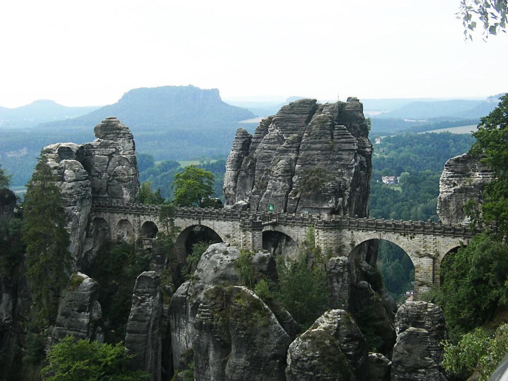 Basteibrücke vom Ferdinandstein