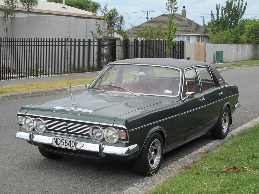 1971 Ford Zodiac (MkIV) | Despite its 45 year age this ...