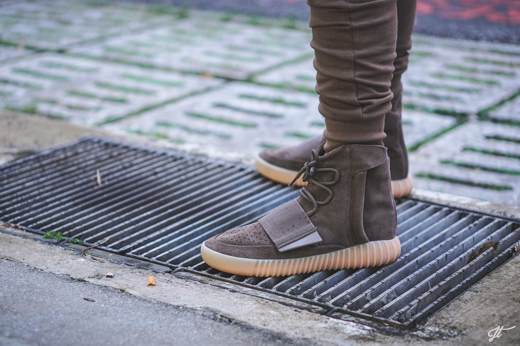 adidas yeezy boost 750 chocolate by jht3