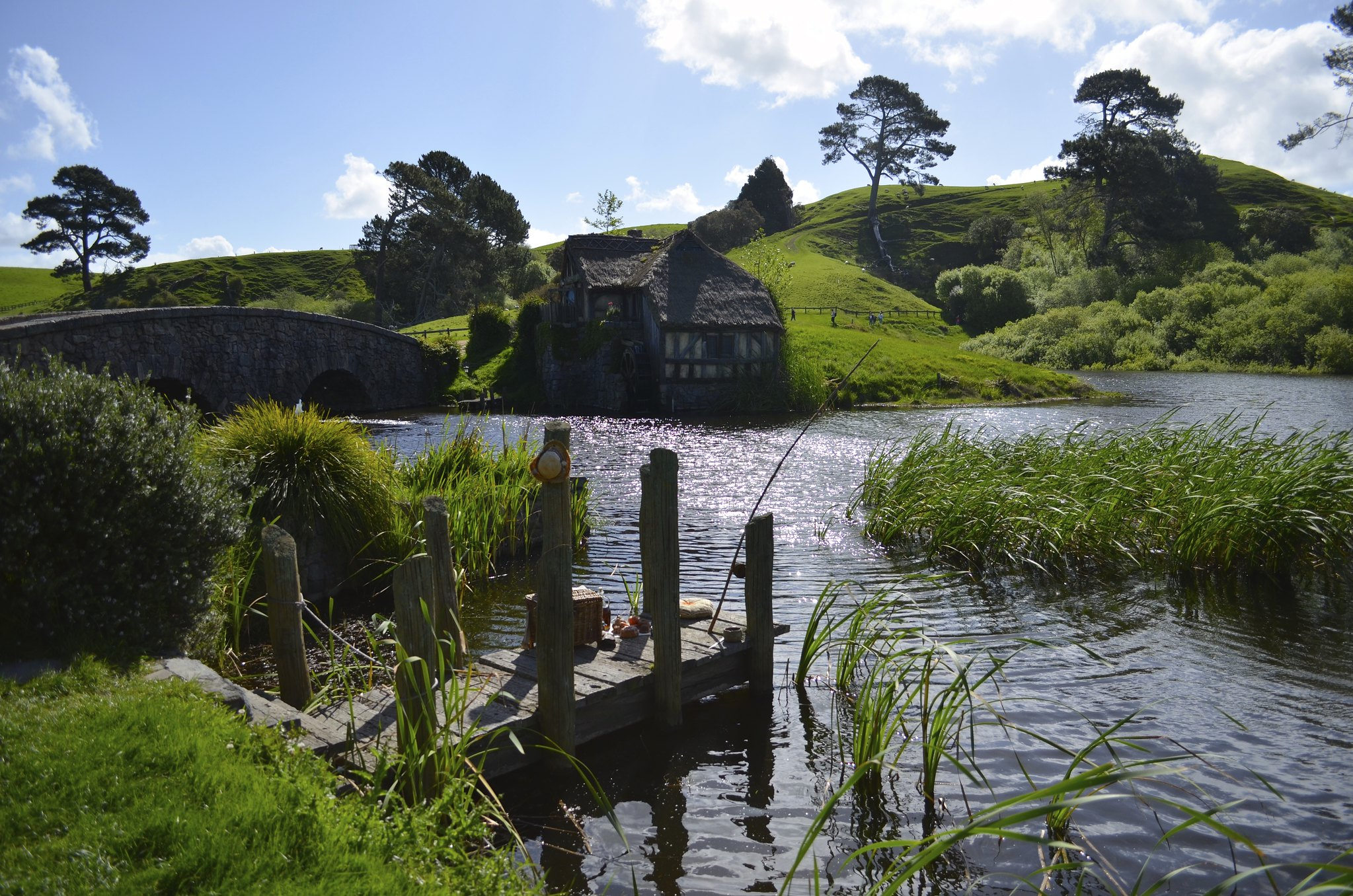 Hobbiton - the mill