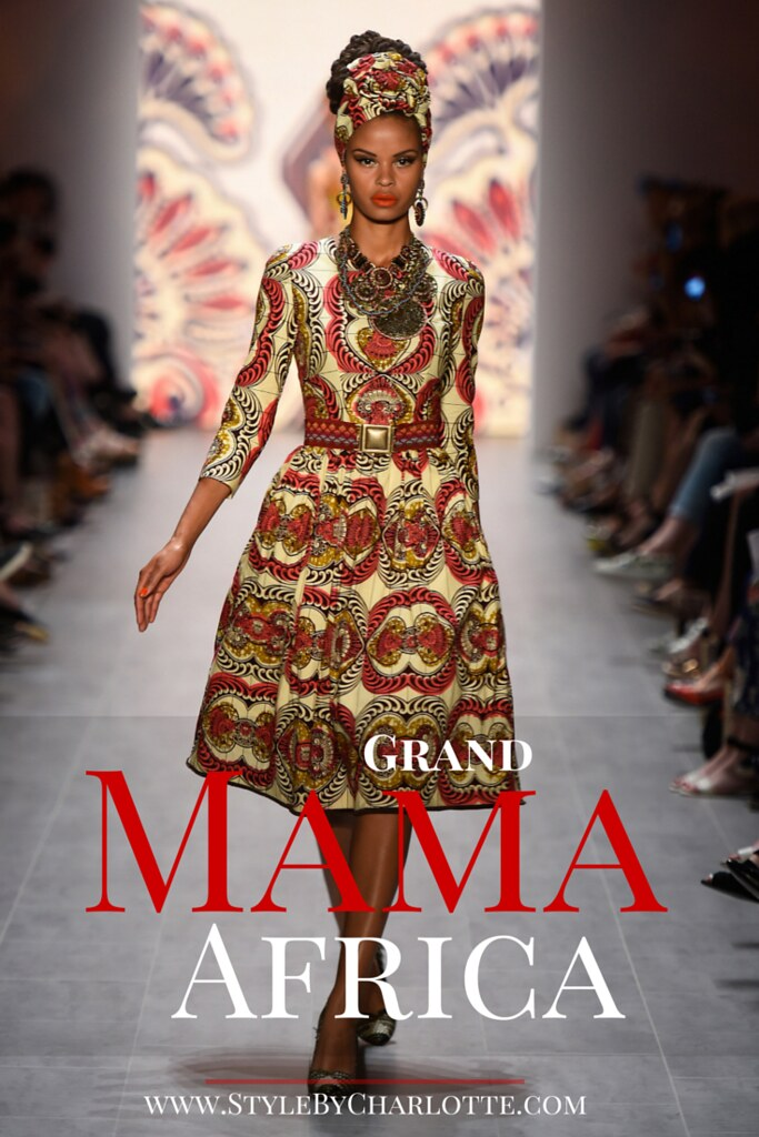 Grand Mama Africa I #African inspired fashion by Lena Hoschek #LenaHoschek #WaxPrint
