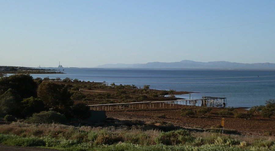Port Augusta Power Station from Blanche Harbour Road, Port Augusta