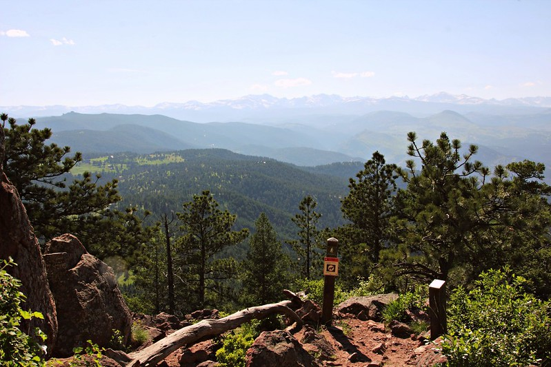 Indian Peaks viewed from Green Mountain, Boulder