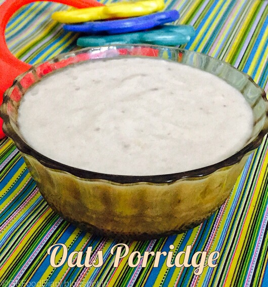 Oats Banana Porridge for Babies 3