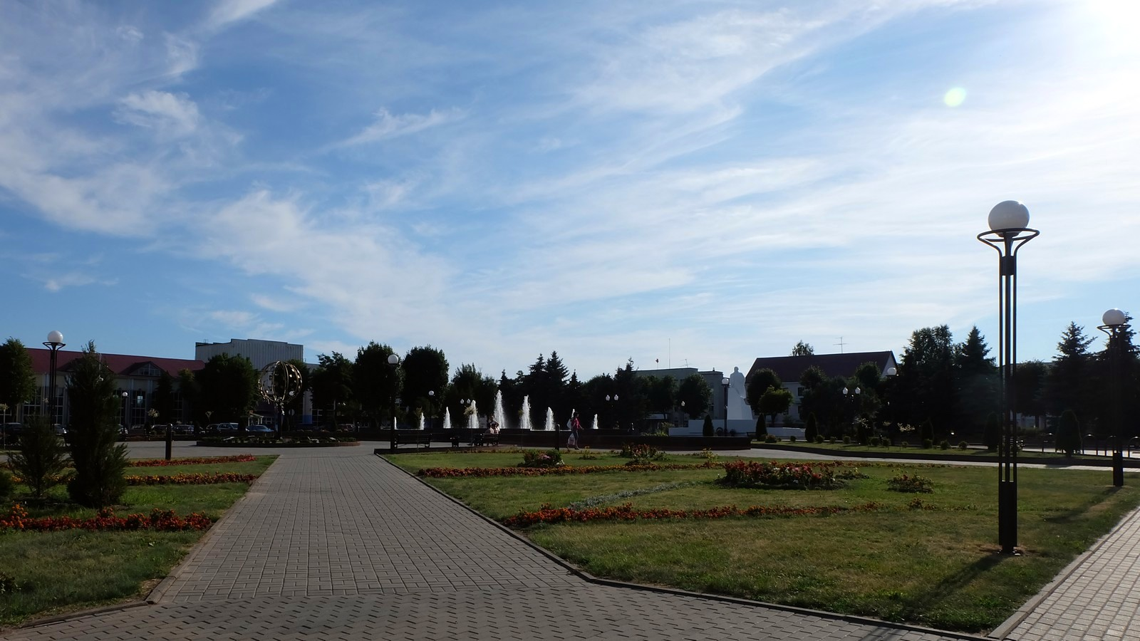 Центральная площадь, Вилейка, Беларусь