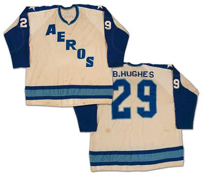 Houston Aeros 1972-73 jersey