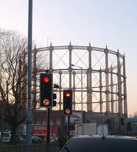 New Southgate gas holder