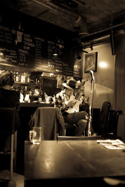 T.G.I.F. Blues Session at Terraplane, Tokyo, 13 Jan 2017 -00110