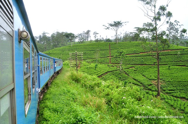 Train Ride from Nuwara Eliya to Colombo