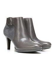 Naturalizer Maureen grey ankle boots