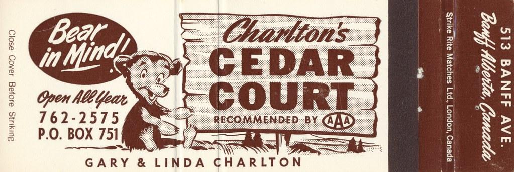 Charlton's Cedar Court - Banff, Alberta