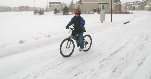 Ian rides his bike to school | by Richard Masoner / Cyclelicious