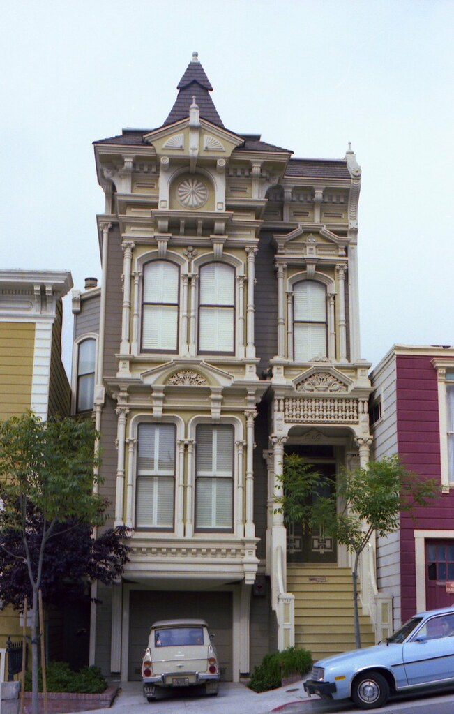 28 Victorian Row Houses In San The Quot Painted