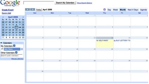 google calendar is out checkout for more info flickr. Black Bedroom Furniture Sets. Home Design Ideas