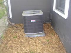 House on 44th St. - Air Conditioner | by sandinw@sbcglobal.net