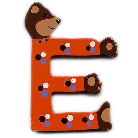 All Sizes | Bear, Wooden Letter E | Flickr   Photo Sharing!
