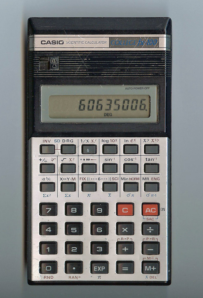 how to use a old casio calculator