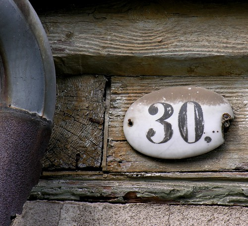Property number 30 at an abandoned house | by :Linda: