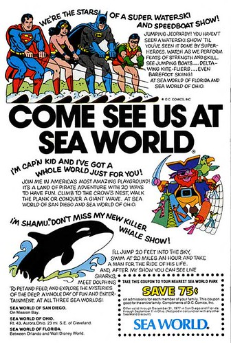 Super Heroes at Sea World | by Neato Coolville
