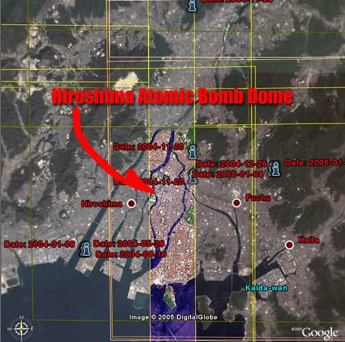 Google Earth New HighResolution Area Hiroshima Unnatu Flickr