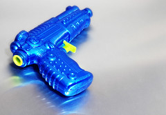 blue gun | by Mark Strozier