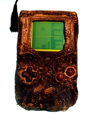 Game Boy damaged in Gulf War | by Plaid Ninja