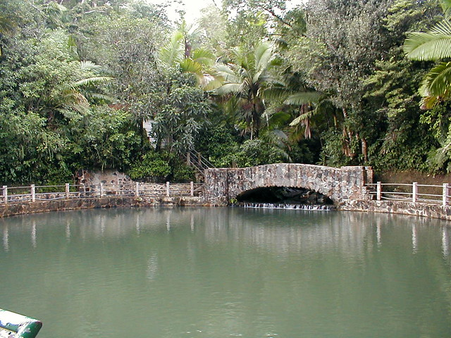 Pool el ba o grande el yunque a man made pool high up for Bano grande puerto rico