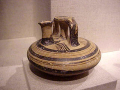 Mycenaean stirrup Jar 14th century BCE Greek terracotta | by mharrsch
