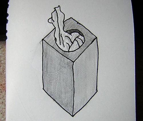 Drawing Tissue Box A Box Of Tissues Never Quite Got