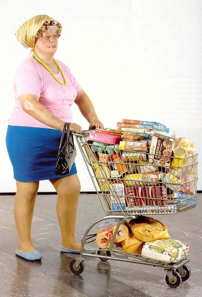 u0026quot supermarket lady u0026quot  duane hanson