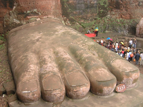 Giant Buddha 2 (The Foot) | by Matthew Winterburn