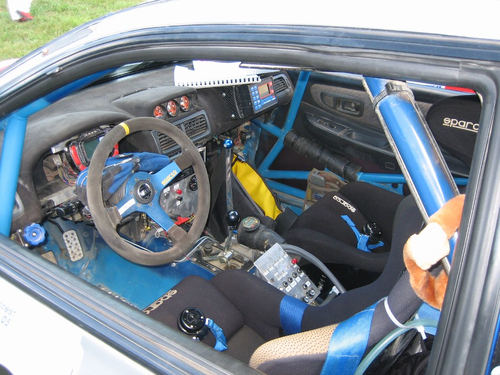 the interior of a rally car what ever you do don 39 t press flickr. Black Bedroom Furniture Sets. Home Design Ideas